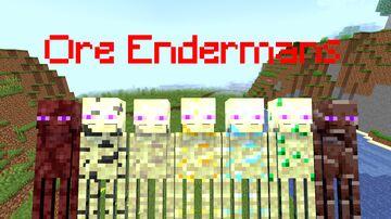 Ore Endermans Minecraft Mod
