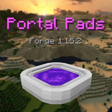 Portal Pads Minecraft Mod