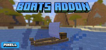 Boats Addon Minecraft Mod