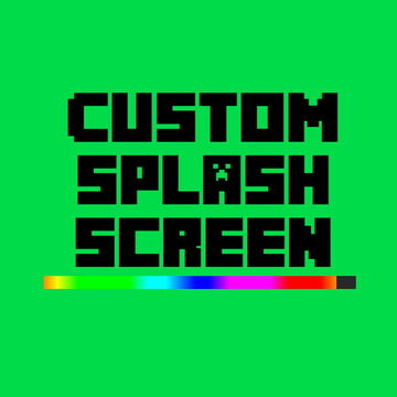 Custom Splash Screen (Fabric 1.16/1.17) Minecraft Mod