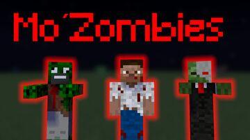 Mo´Zombies 1.16.5 Minecraft Mod