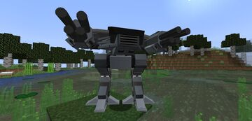Chronokiller's 1.16.5 - 1.15.2 Robocop Robots Minecraft Mod