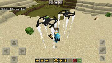 Addon Drone minecraft pe Minecraft Mod