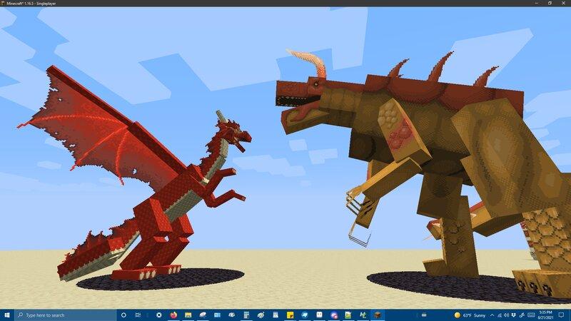 Dragon vs. Tarrasque