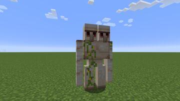 Golem pet Minecraft Mod