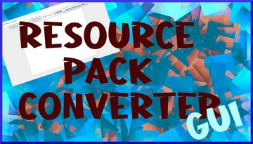 Resource Pack Converter GUI Minecraft Mod
