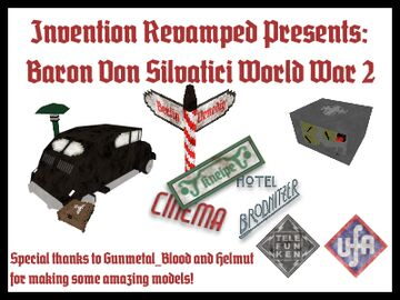 INVENTION REVAMPED! (working invention mod by Deltric and War Monger) Minecraft Mod