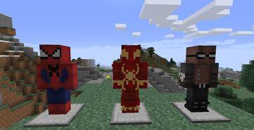 Web Slingers- Avengers Initiative Fiskheroes Pack Minecraft Mod
