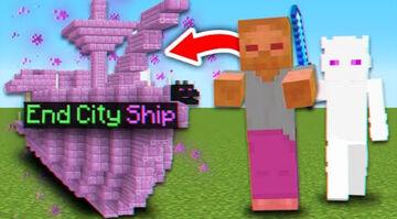 Minecraft But Mobs Spawn OP Structures! Minecraft Mod