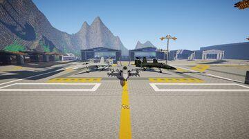 (1.7.10) F/A-18E NEW TEXTURES (Mcheli)+ Five new custom textures Minecraft Mod