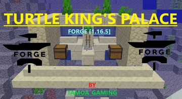 Turtle King's Palace - A [1.16.5] Structure Mod by TAMOA_GAMING Minecraft Mod