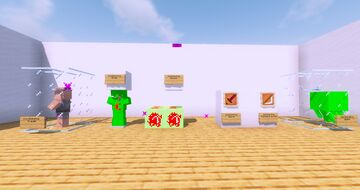 Sam's lucky block mod! Minecraft Mod