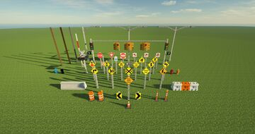 Traffic Plus Minecraft Mod