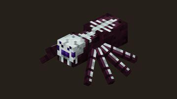 Bone Spiders Minecraft Mod