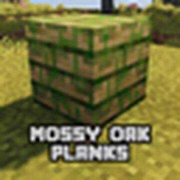 Mossy Oak Plank (NEED FORGE 1.16.5) Minecraft Mod