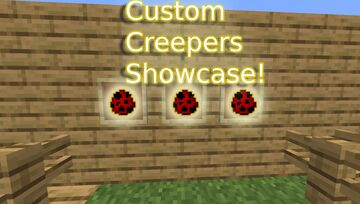 Minecraft but there are custom creeper tools... Minecraft Mod
