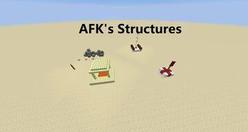 Afk's Structures Minecraft Mod