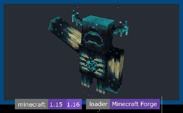 The Warden Minecraft Mod