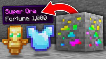 Super ore Minecraft Mod