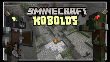 Kobolds! 1.16.5 новый мод на Майнкрафт I Торговля, подземные деревни, новые инструменты и броня Minecraft Mod