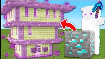 Minecraft But Ores Spawn OP Structures! Minecraft Mod