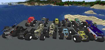 Chronokiller's1.16.5- 1.15.2 monster truck mod Minecraft Mod