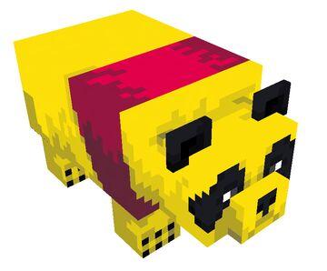 [MrSwatPL] Winnie the pooh 1.16.5 [Panda addon] | Completed Minecraft Mod