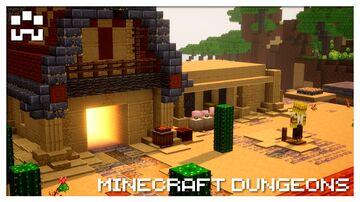 Desert Camp [MCDungeons Mod] Minecraft Mod