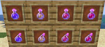 Extra potions Minecraft Mod