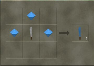 Survival Craft Diamond Gear Crafting Minecraft Mod