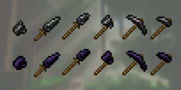 Flint And Obsidian Tools Mod [Pointy Update] Minecraft Mod