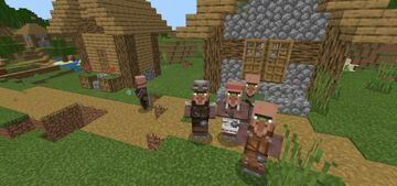Strengthenable Villagers Addon (1.0.6, for Minecraft 1.13+) Minecraft Mod