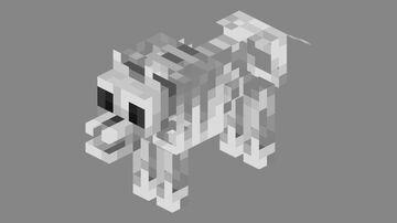 Skeleton Wolf Artifact Minecraft Mod