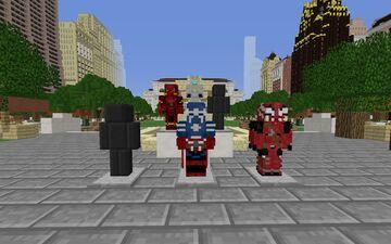 Ultimate Heroes Heropack Minecraft Mod