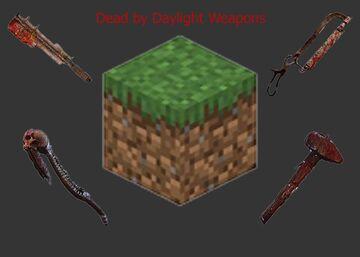 Dead By Daylight Weapons Minecraft Mod