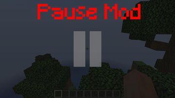 Pause Mod Minecraft Mod