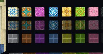 Patterned Glass Minecraft Mod