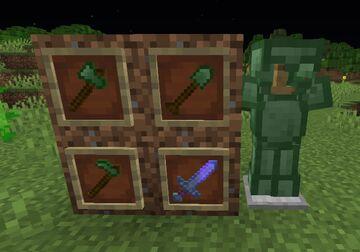 MxydanMod - Emerald Tools n' Armour Minecraft Mod