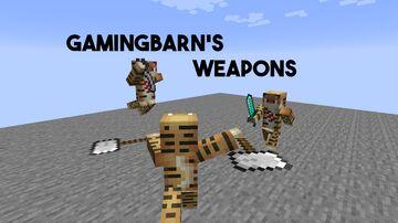 Gamingbarn's Weapons Minecraft Mod
