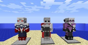 New Guard- Avengers Initiative Heropack Minecraft Mod