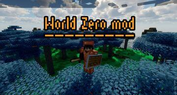 World Zero Mod Minecraft Mod