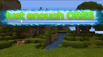 Just enough ores (update #1!) Minecraft Mod
