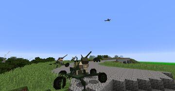 Flan's Mod WW2 Bots Minecraft Mod