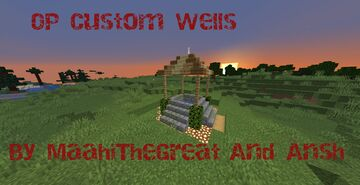 Custom Wells In 1.16.5 By MaahiTheGreat Minecraft Mod