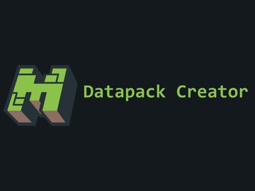 Datapack Creator IDE v1.3.0 Minecraft Mod