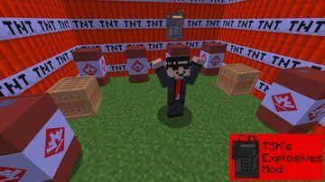 TheSpiderKing73's Explosives Mod Minecraft Mod