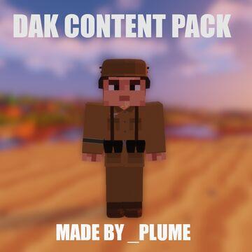 Plume's Deutsches Afrikakorps content pack Minecraft Mod