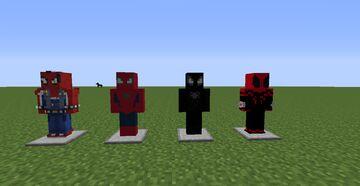 NEW ADDON FOR FISKSuperheroes about SuperHeroes FinesAddon Minecraft Mod