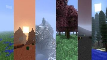 Ultimate Biomes - A Mod For Minecraft Minecraft Mod