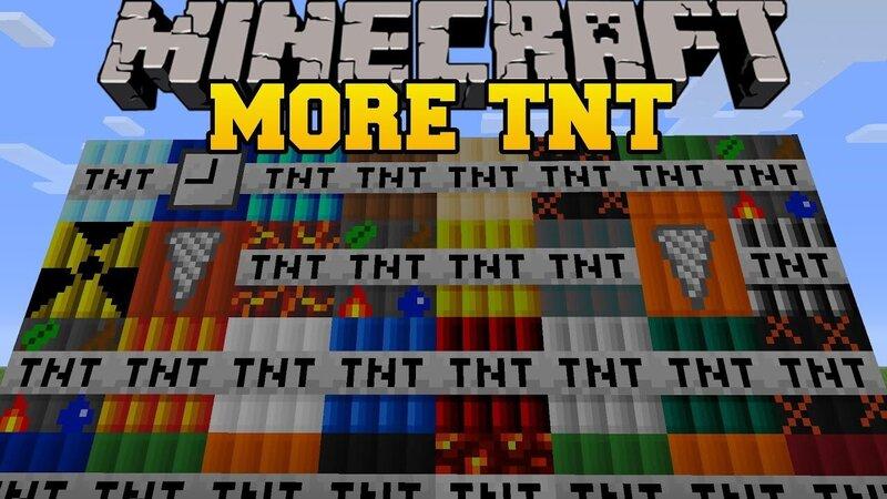Minecraft bedrock more TnTMod